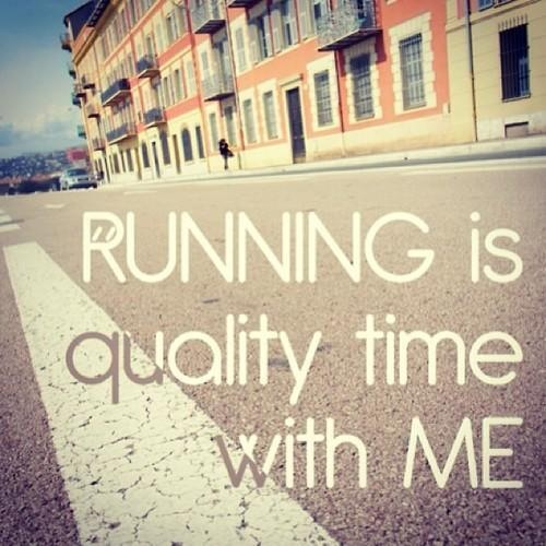 running = quality time