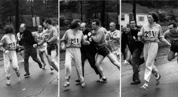 first female boston marathoner
