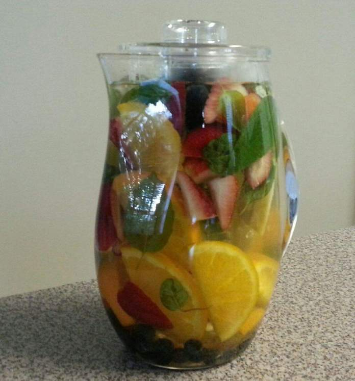 Fruit & Herb - Infused Water... Pretty