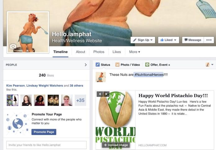 hello.iamphat facebook page