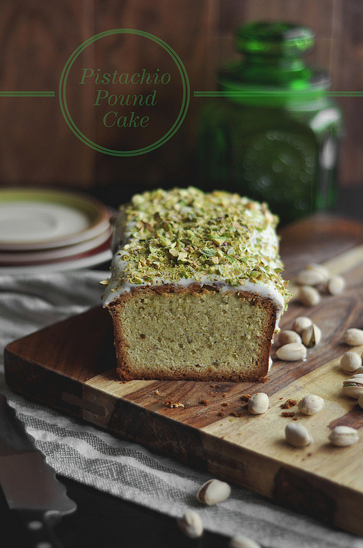 pound cake pistachio